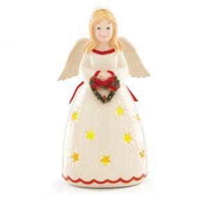 "Lenox Merry and Light Angel 8"" brand new"